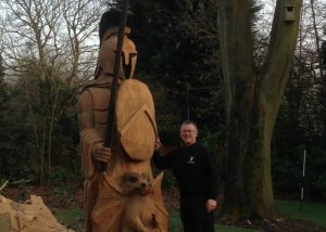 The tim burgess cheshire chainsaw carver sculptor
