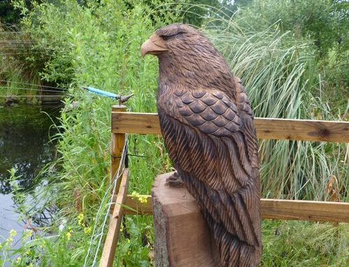 Buzzard Chainsaw Sculpture